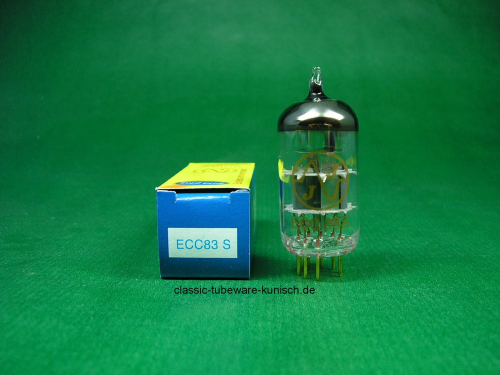 ECC83 S JJ Gold Pin