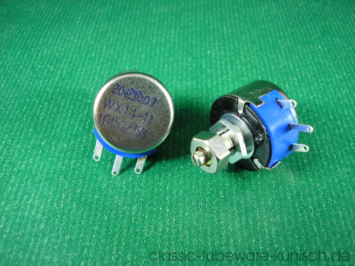 Drahtpotentiometer 100R