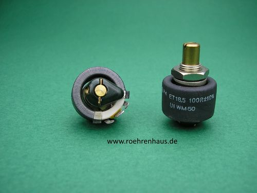 Drahtpotentiometer Draloric 100Ohm